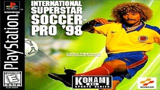 AQUECIMENTO PES 2016 -  INTERNATIONAL SUPERSTAR SOCCER PRO 98 - O WINNING ELEVEN 3 DE PLAYSTATION