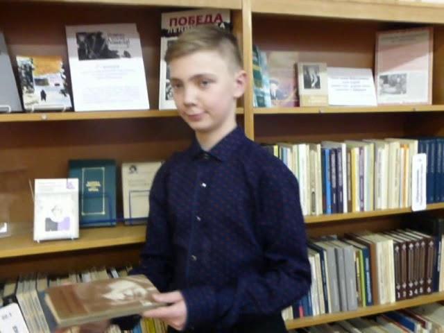 Изображение предпросмотра прочтения – АндрейАртеменков читает произведение «Народ» М.И.Цветаевой