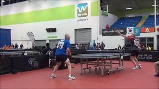 World Veterans Championships table tennis 2014 MEN 60 65, 50 60 FINAL