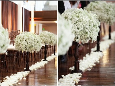 Wedding aisle flowers pictures flowers ideas youtube wedding aisle flowers pictures flowers ideas junglespirit Image collections