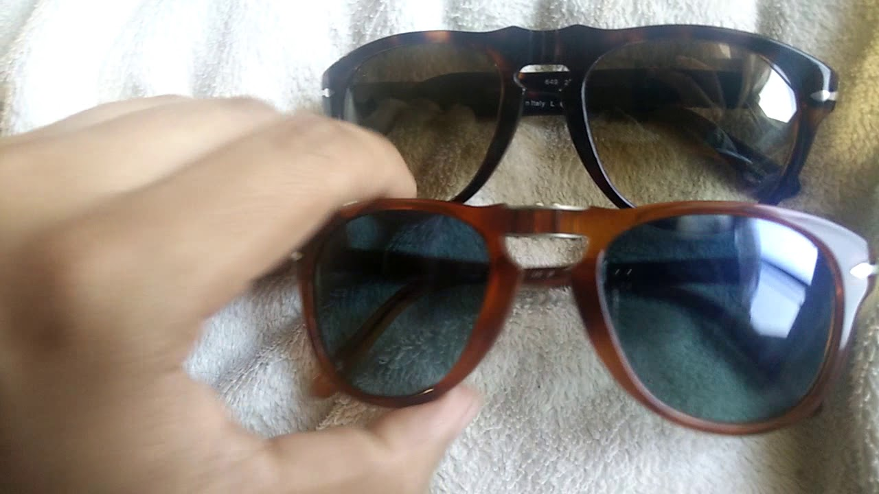 fe690569c0a36 Comparing the Persol 649 and the 714!  Persol 649 vs 714  - YouTube