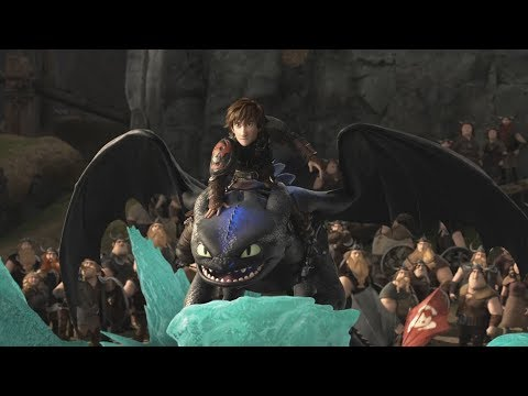 How To Train Your Dragon 2 2014 Toothless Vs The Bewilderbeast Scene Youtube