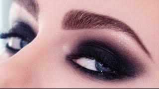 Макияж смоки айс (smoky eyes) ускоренный вариант