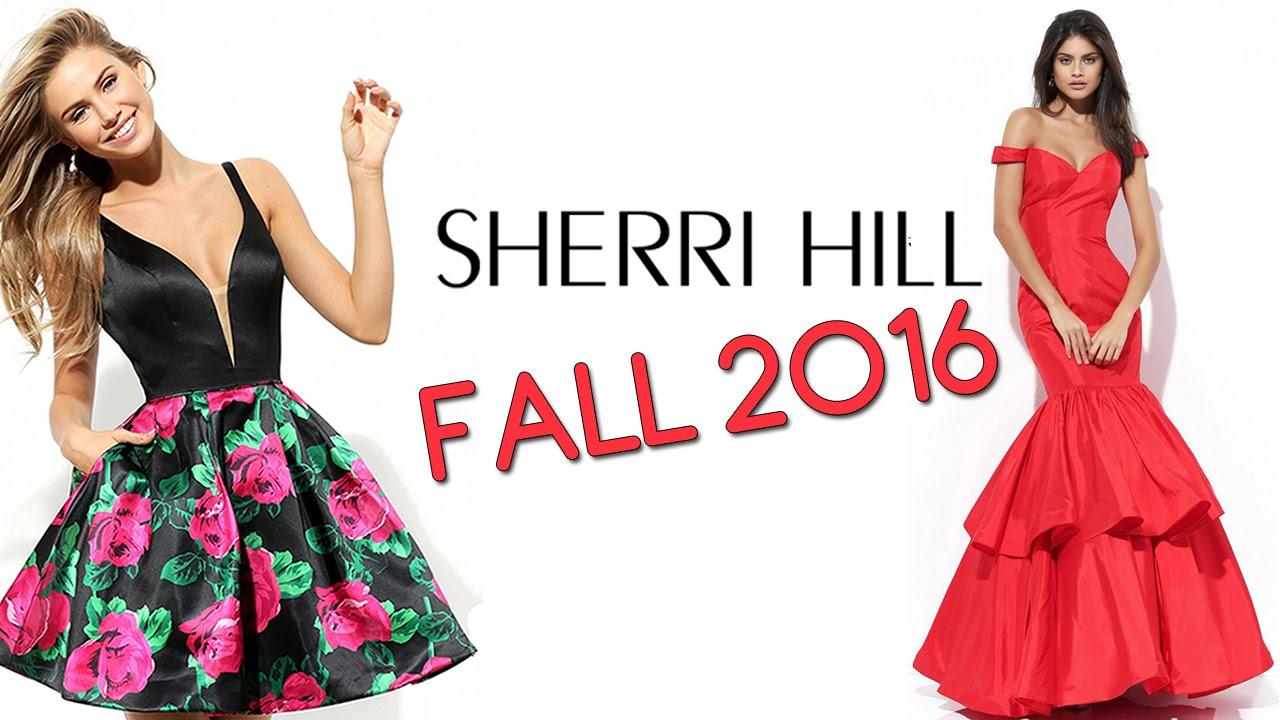 c60672912c4 Sherri Hill Fall 2016 Dresses - YouTube