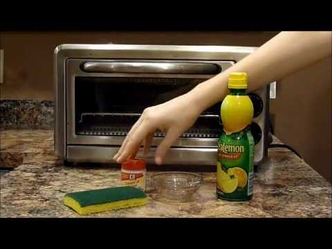 Chemical-free cleaning: stainless steel appliances