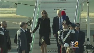 Trump Heads To Rome To Meet With Pope Francis