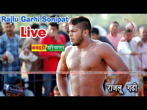 Rajlu Garhi (राजलू गढ़ी) Sonipat Kabaddi Tournament LIVE || KABADDI HARYANA ||
