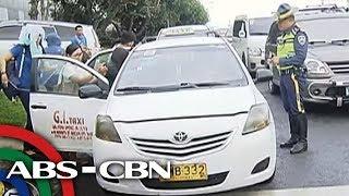 TV Patrol: Mga taxi na naniningil gaya ng UV Express, hinuli ng LTFRB