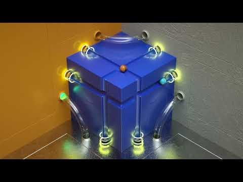 Balls Around a box   CGI Animation   Studio Capicúa