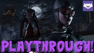 "BATMAN - The Telltale Series Walkthrough EP.  1 ""REALM OF SHADOWS"" FULL PLAYTHROUGH"