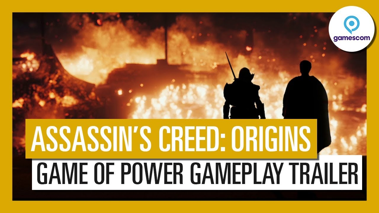 Assassin S Creed Origins Game Of Power Gameplay Trailer Youtube