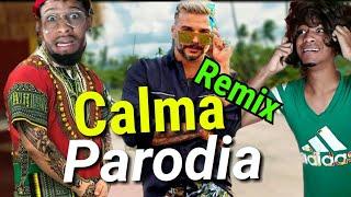 Calma Remix (parodia) - Pedro capo ft farruko