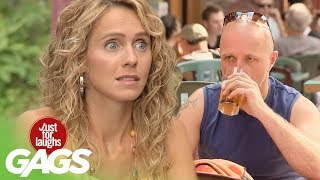 Repeat youtube video Hot Girl & Free Beer Prank - Just For Laughs Gags