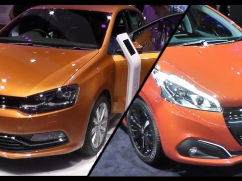 2017 Peugeot 208 vs. 2017 Volkswagen Polo