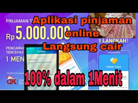 Pinjaman Online Langsung Cair 100 Terbukti Dalam Hitungan Menit