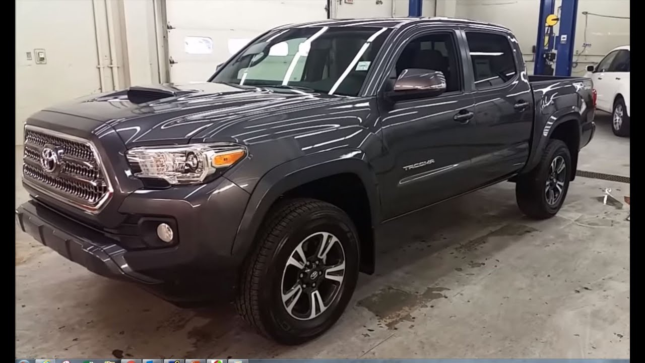 2016 Toyota Tacoma Double Cab Trd Manual Transmission In 01g3 Magnetic Grey