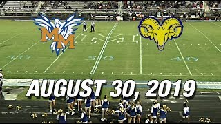 McMichael Phoenix vs Reidsville Rams -  August 30, 2019