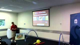 Sporting advantage - corporate health, fitness and wellness presentation part one