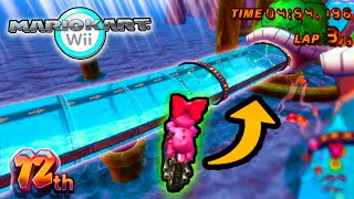 Mario Kart Wii But You Can Drive Over Walls