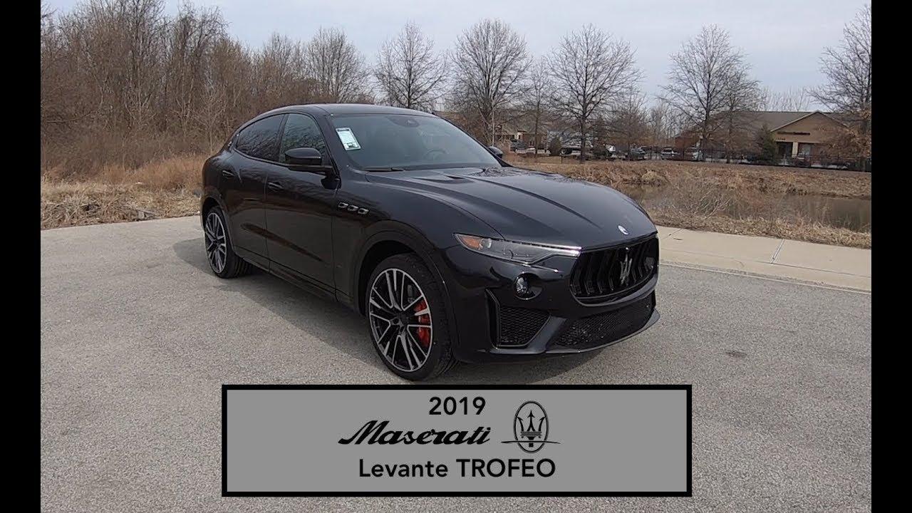 2019 Maserati Levante Trofeo Review >> 2019 Maserati Levante Trofeo Launch Edition Walk Around Video In Depth Review