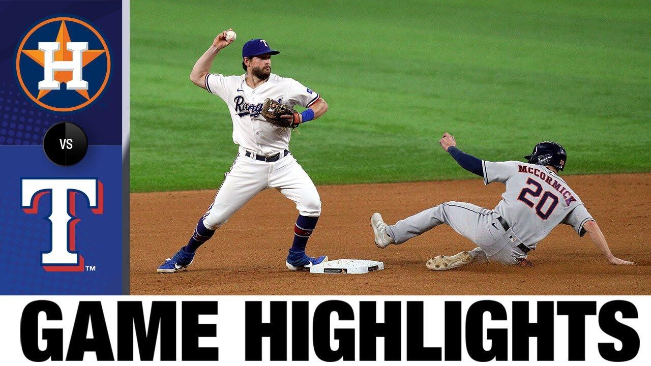 Download Astros vs. Rangers Game Highlights (9/15/21) | MLB Highlights