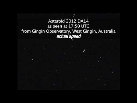 Gingin Observatory Spots Near-Earth Asteroid