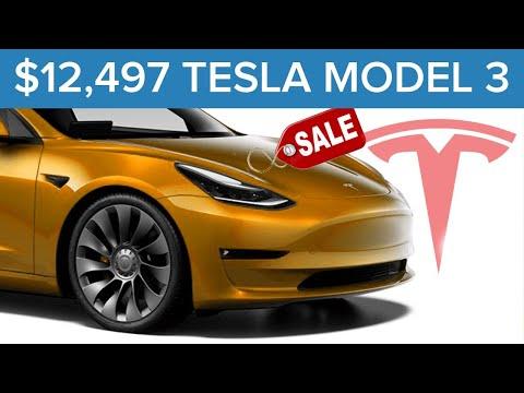 $25,500 Off a 2021 Tesla Model 3?