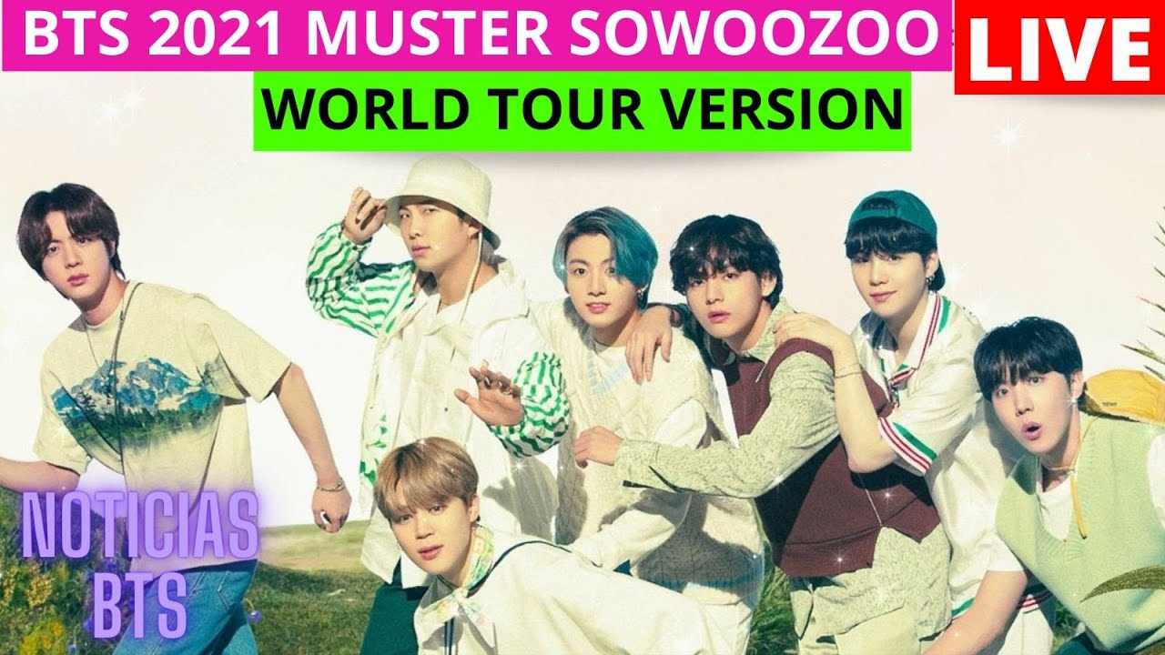 DAY 2 BTS CONCERT (2021 MUSTER SOWOOZOO WORLD TOUR VERSION)/BTS FESTA 2021 /Día 2 CONCIERTO /ESPAÑOL
