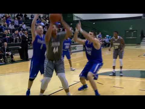 Men's Basketball vs Merchant Marine Highlights