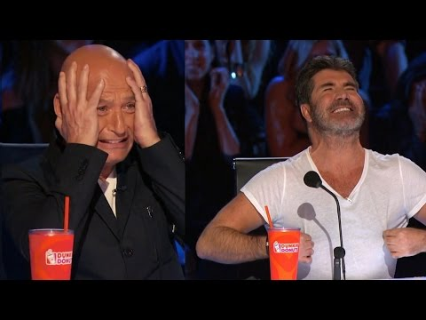 America's Got Talent 2016 The Baron of the Universe Just Ouch Full Judge Cuts Clip S11E11