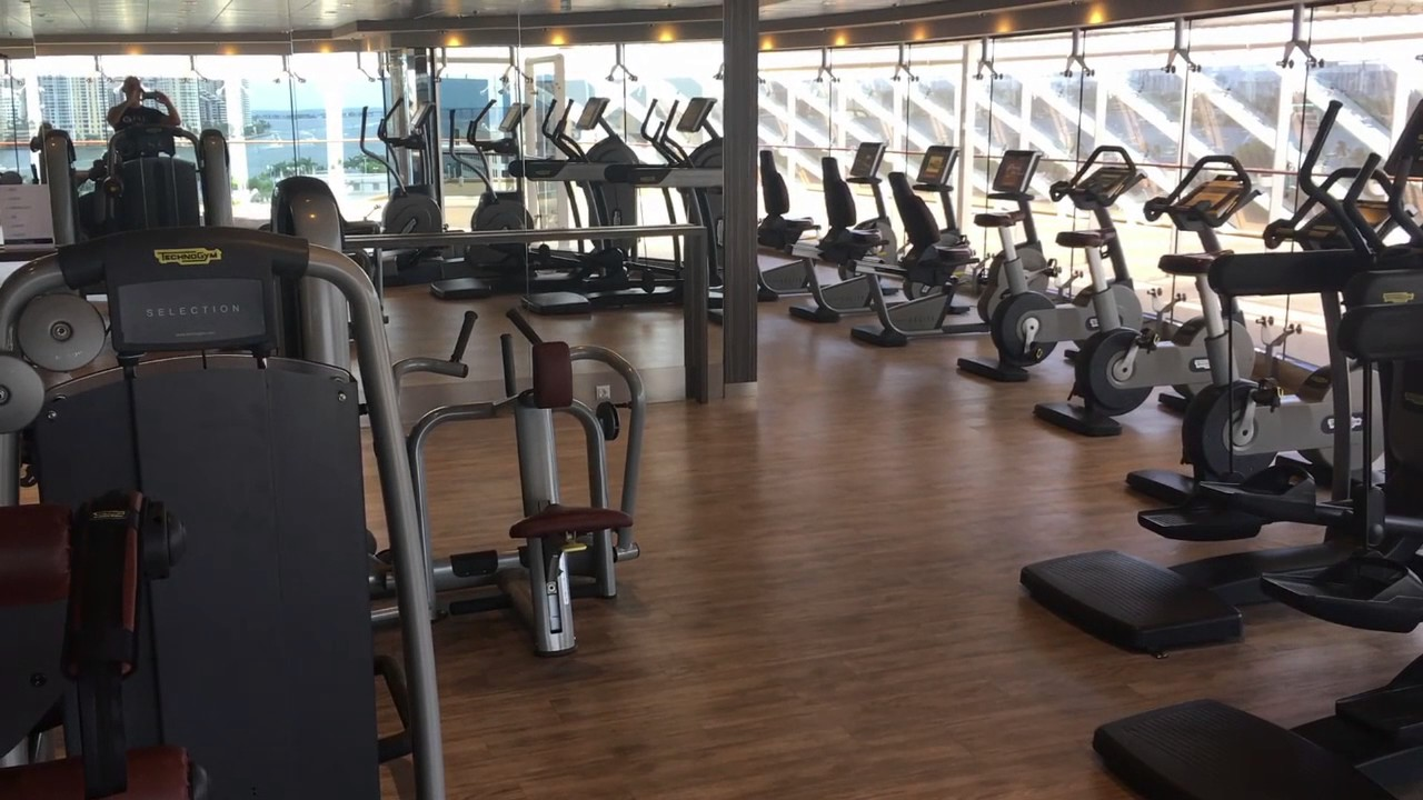 Download Msc Splendida Gym  PNG