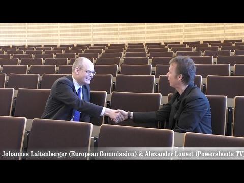 Johannes Laitenberger - Interview by Alexander Louvet - Positive Energy in EU - Powershoots TV