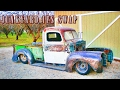 Jaguar xj6 IFS conversion with full air suspension! (PART 6) 1947 ford truck build