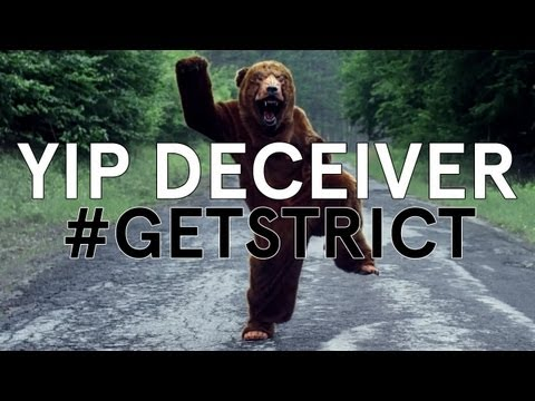 Yip Deceiver - Get Strict ft Reggie Watts [Official Video]