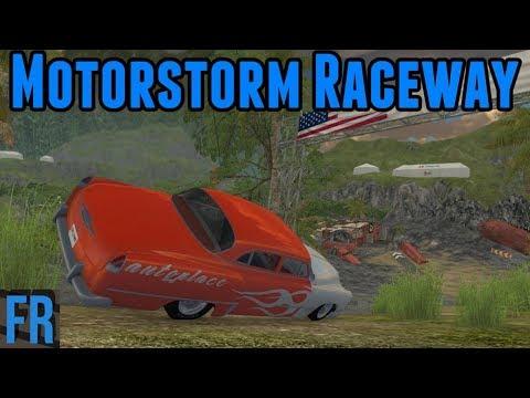 BeamNG Drive - Motorstorm Racetrack