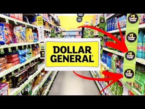 DOLLAR GENERAL SHOPPING!!! *THE ENTIRE $1 AISLE* NEW FINDS + SO MANY NAME BRANDS!!!