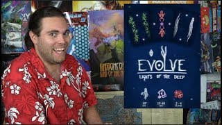Evolve: Light of the Deep - Kickstarter Card Game Review