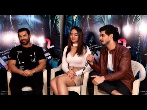 John Abraham, Sonakshi Sinha & Tahir Raj Bhasin Interview About FORCE 2 Movie    Btown News