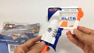 Nerf Gun With 3 Darts | Nerf Triad Ex-3
