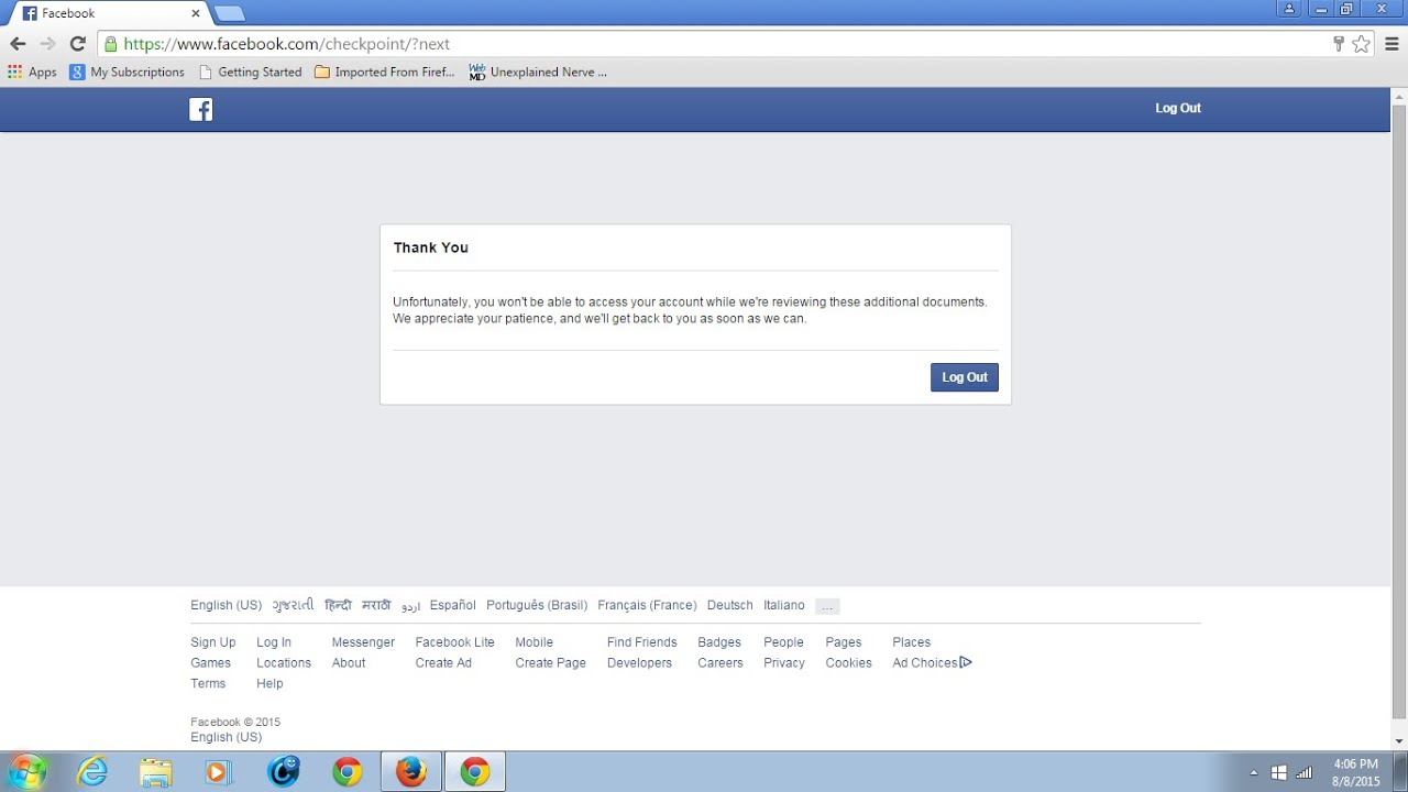 Trouble with facebook account - Trouble With Facebook Account 7
