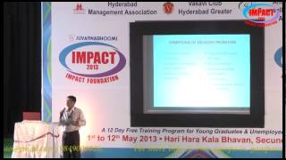 Memory Development by    Anjana Murthy at IMPACT 2013