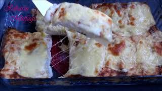 Akşam yemeği için kolay fırın yemekleri arayanlara tavuklu mantar sarması yemeği- Yemek tarifleri