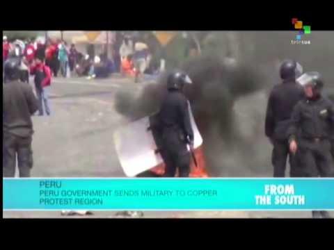 Peru Militarizes Arequipa Region