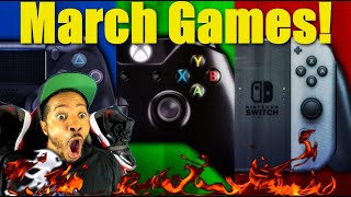 Huge March 2020 Game Releases For Nintendo Switch, Xbox One, & Playstation 4