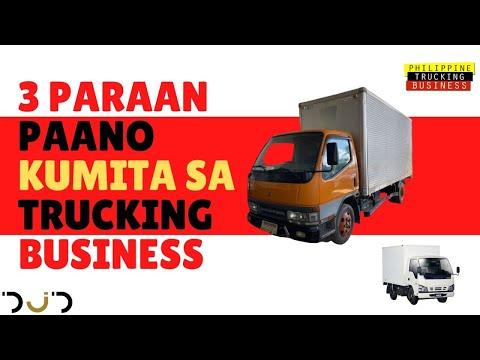 3 PARAAN PAANO KUMITA sa TRUCKING Business Honest Review Pros and Cons Philippine Trucking