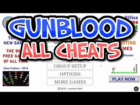 ALL GUNBLOOD CHEATS!