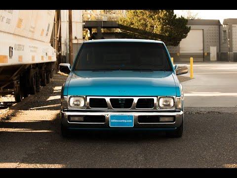 "Albert's '95 Nissan Hardbody ""Lil Smurf"""