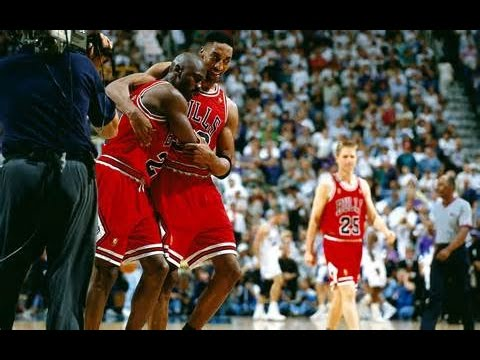94863b18995ebe Michael Jordan Flu Game vs Jazz (1997 NBA Finals Game 5) - 38 Pts