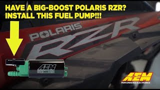 homepage tile video photo for Polaris RZR XP Turbo Owners Need This Fuel Pump!