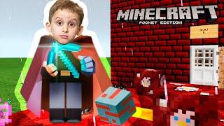 Minecraft : Instalando Mcpe Master + Gameplay - Paulinho Jogando Minecraft Pocket Edition #4